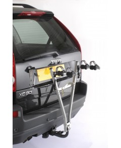 A009P2 MOTTEZ 2 BIKE TOWBALL MOUNTED REAR HANG ON CARRIER