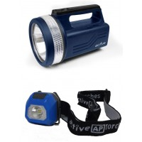 *** SPECIAL *** 118 LUMENS SPOTLIGHT AND 20 LUMENS MINI HEADTORCH BUNDLE