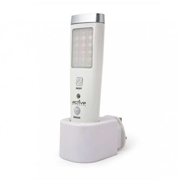 045/17898 EMERGENCY & SENSOR LIGHT with 5 LED Torch (PACK OF 2)