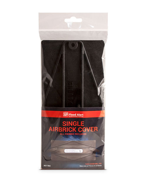 A51784 SINGLE AIRBRICK COVER BLACK (1 PACK OF 3 COVERS)