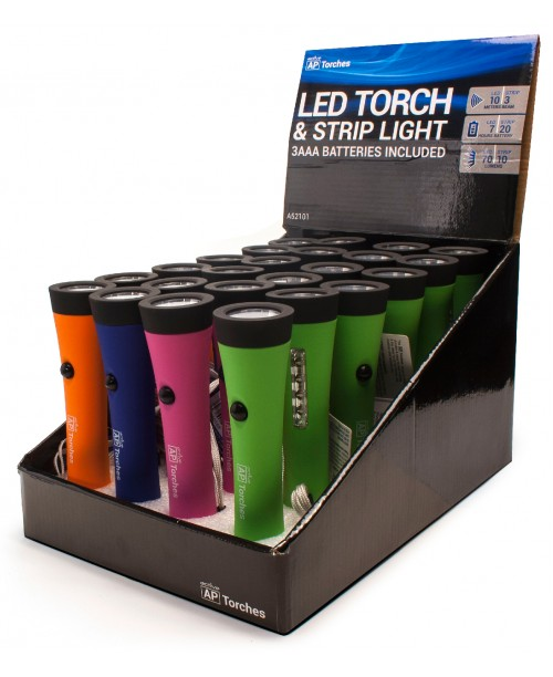 A52101 LED TORCH AND STRIPLIGHT  *** BULK OFFER***