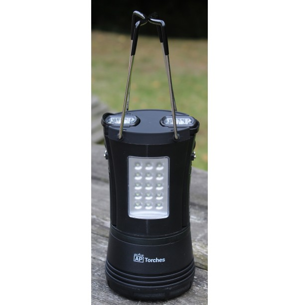 A52507 60 LED LANTERN WITH 2 DETACHABLE TORCHES