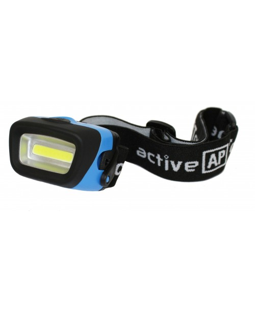 A52583 140 LUMENS COB HEADTORCH ***SPECIAL OFFER 2 for £17.50****