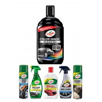 COLOR MAGIC JET BLACK WAX CAR CARE KIT