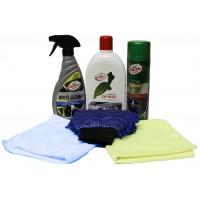 TURTLE WAX CAR CLEANING KIT