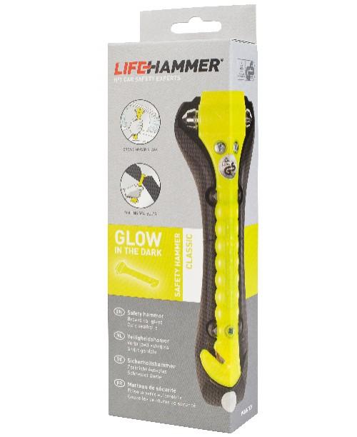 LifeHammer Classic Glow Yellow Box