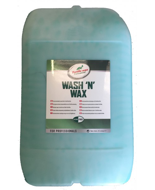 FG4499 25 LITRE TURTLE WAX WASH & WAX