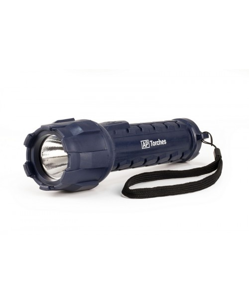 A50954 120 LUMENS HEAVY DUTY RUBBER TORCH