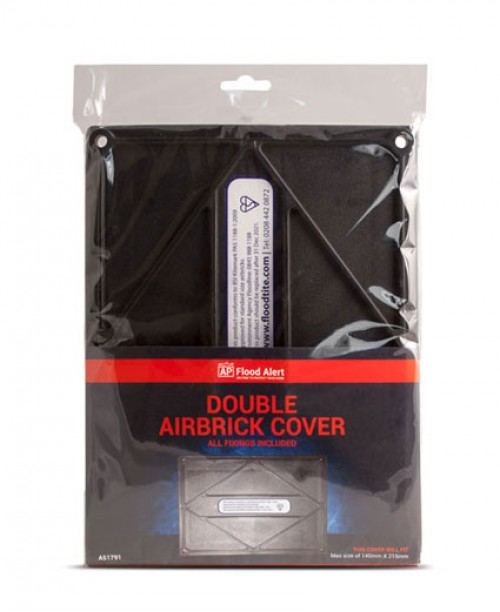 A51791 DOUBLE AIRBRICK COVER (1 COVER)
