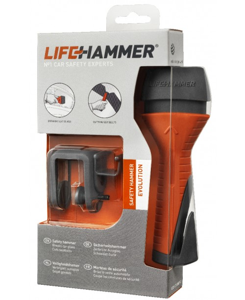 Safety Hammer Evolution Blister