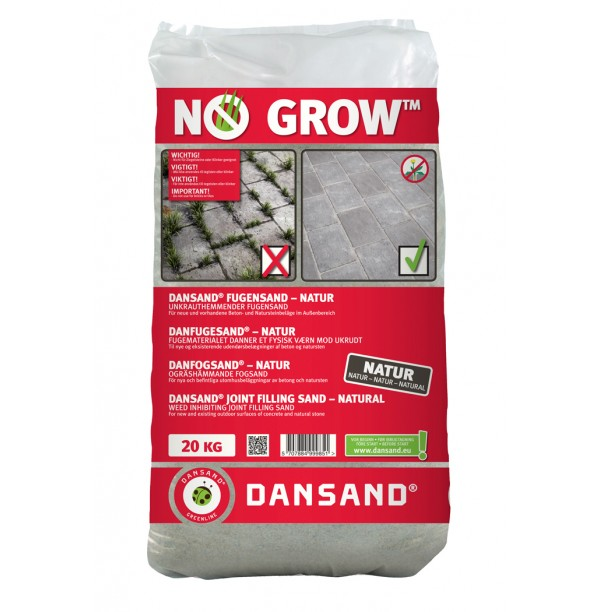 DANSAND NO GROW 20Kg 1 PALLET OF 49 20Kg BAGS DELIVERED ANYWHERE IN MAINLAND UK